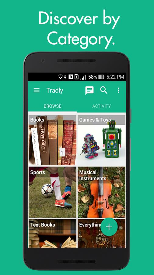 Tradly - Chat, Buy, Sell & Donate stuff you love - Android ...