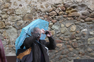 Photo: ... visite sous la pluie !