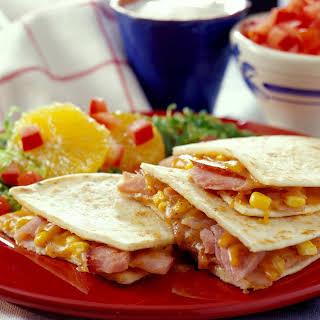 Ham Quesadillas.
