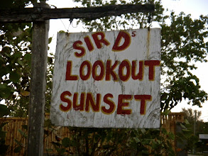 Photo: Sir D's Lookout Sunset (just past Rick's.)