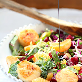 Scallop Balsamic Vinegar Salad Recipes