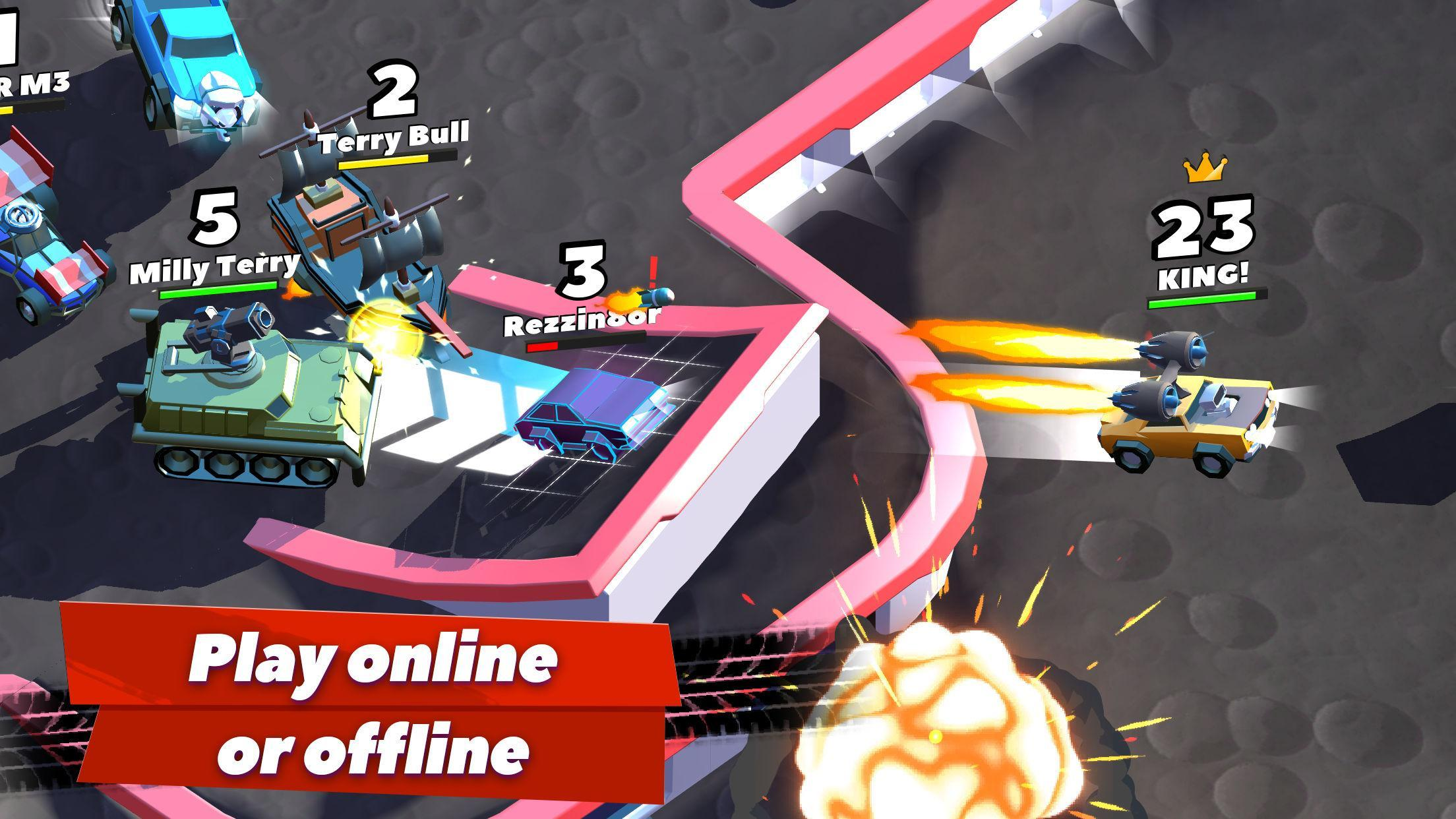 Crash of Cars Mod Apk (Unlimited Money/Gems/Health) Unlocked all Cars 4