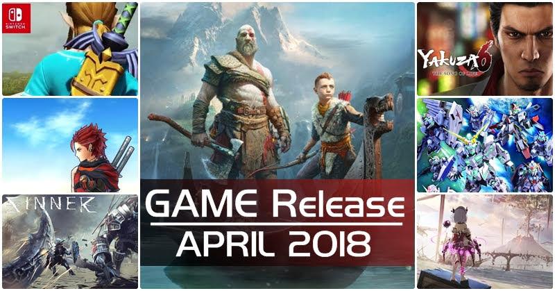 [Game Release] เกมเด็ด! เดือนเมษายน 2018