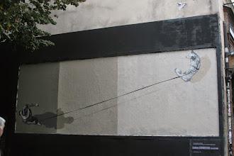 Photo: Street art -Anders Gjennestad -Paris XIe - rue Oberkampf