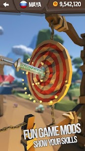 Flip Knife 3D: Knife Throwing Game 1.0.3 Android Mod + APK + Data 1