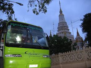 Photo: Green Bus, Phnom Penh