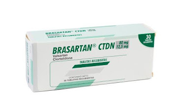 BRASARTAN CTDN 80/12.5MG   TABLETAS CAJA X30TAB. FARMA VALSARTAN CLORTAL