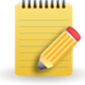 Droid notepad (Ad-Free) icon