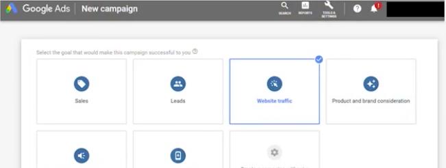 Настройки Google Ads