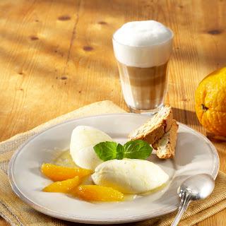 Orangencreme mit Kaffeeöl