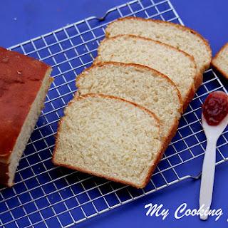 Buttermilk Bread – White Sandwich Bread - Egg Less White Bread