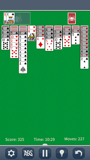Spider Solitaire Classic apkpoly screenshots 2