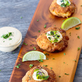 Fish Cakes with Remoulade.