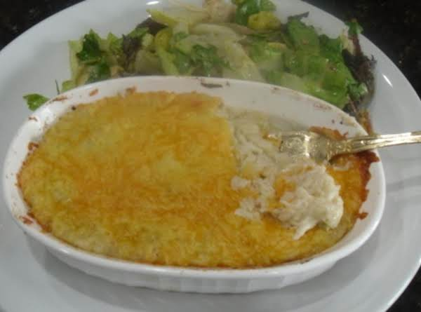 Crab Meat Au Gratin Recipe