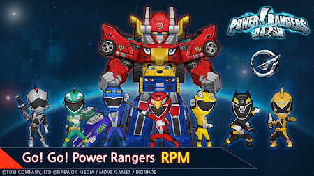 Power Rangers Dash (Asia) 1.5.2 screenshot 237190