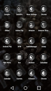 Dap Gray - Icon Pack screenshot 1