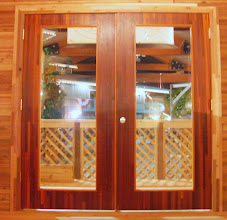 Photo: Sing Core's Honeycomb Torsion Box Sandwich core door panels combine insulation with strength and style.