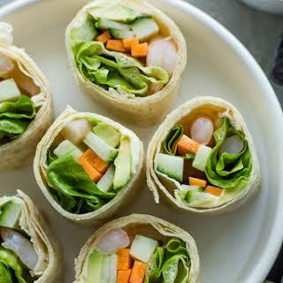 Tortilla Sushi Rolls.