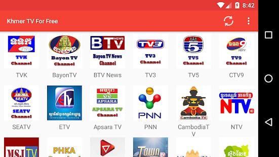 Khmer TV For Free - náhled