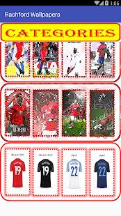 Marcus Rashford Wallpaper Football Player - náhled