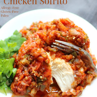 Slow Cooker Chicken Sofrito (Gluten-Free, Paleo) Recipe