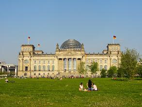 Photo: Reichstagsgebäude, Bundestag