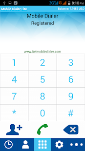Mobile Dialer Lite- screenshot thumbnail
