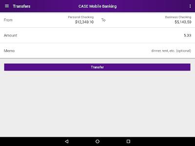 CASE Credit Union Mobile screenshot 11