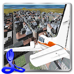 Flight Simulator 3D Airplane Icon