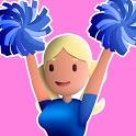 Cheerleader Run 3D icon