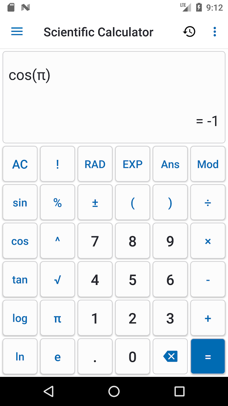 NT Calculator - Extensive Calculator Pro Screenshot 6