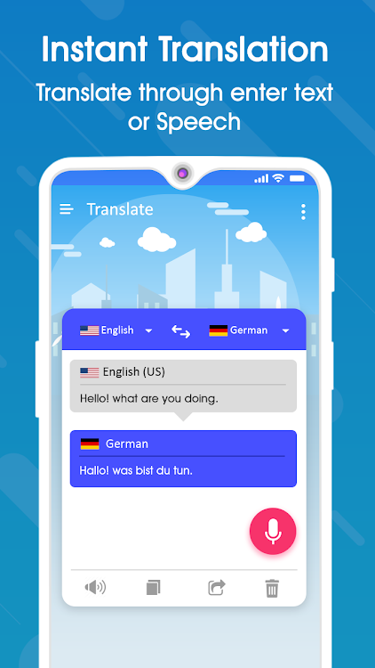 Translate All Language - Voice Text Translator – (Android