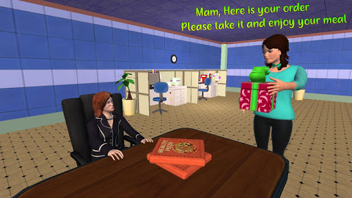 My Home Bakery Food Delivery Games modavailable screenshots 5