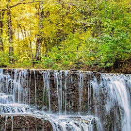 Height of Fall by Jennifer Schmidt - Landscapes Waterscapes ( landscape photography, waterfalls, waterscape, nature, water, landscape,  )