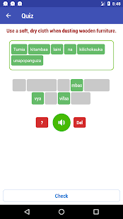 Learn Swahili 9000 Phrases Screenshot