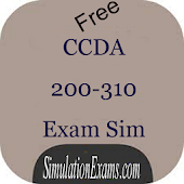 CCDA 200-310 Exam Simulator