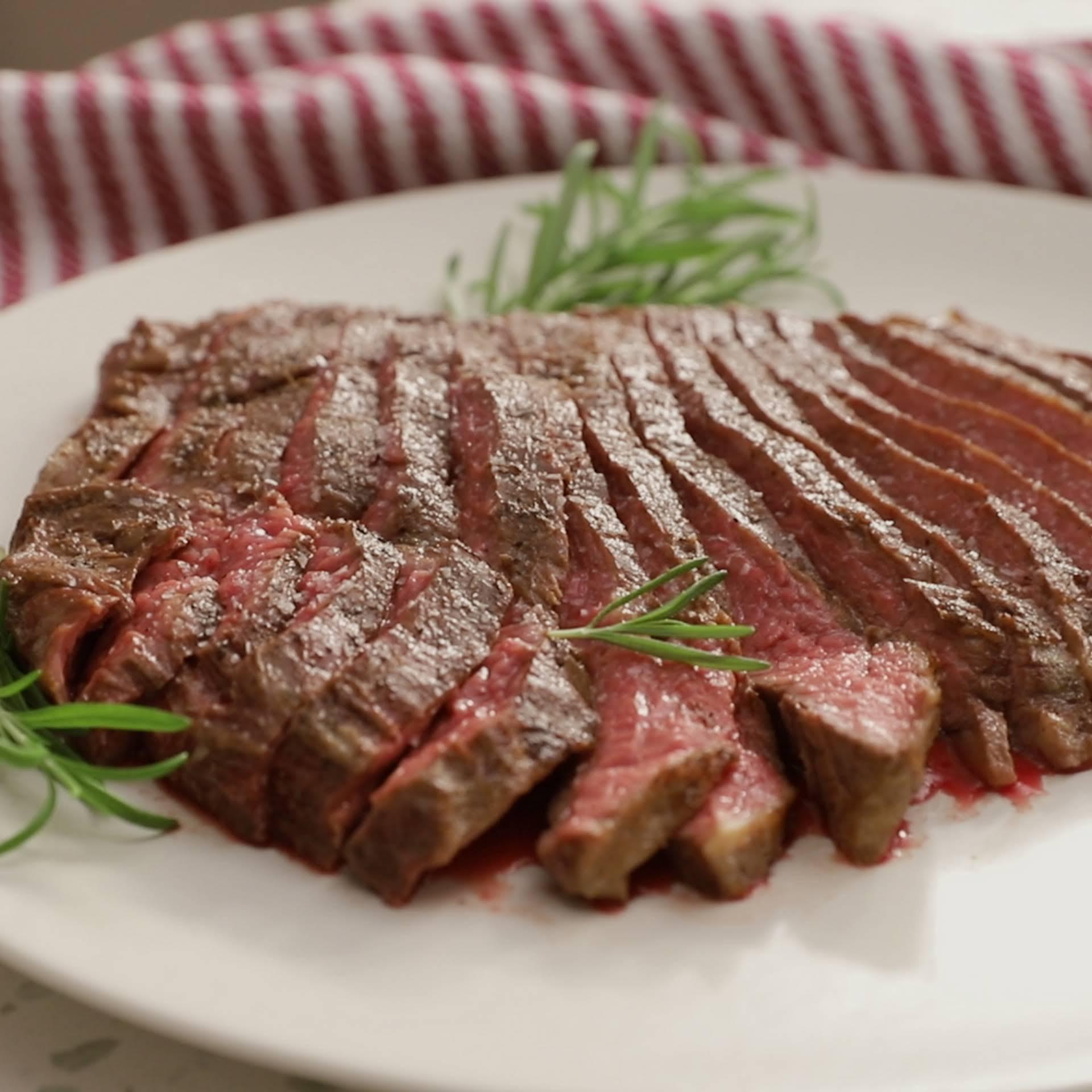 Oven-Roasted Flank Steak