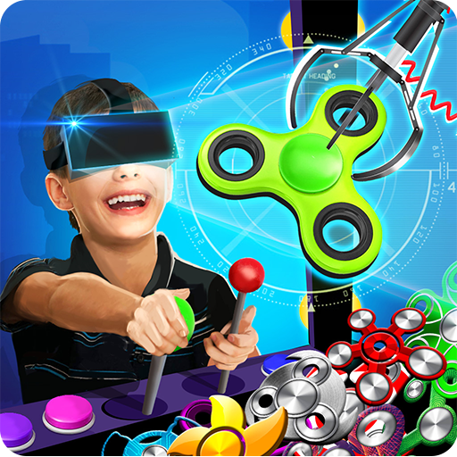 VR Prize Machine 3D Fidget Spinners Icon