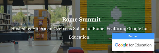 AppsEvents Rome Summit featuring Google for Education