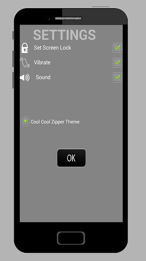 Cool Cool Zipper Lock Screen