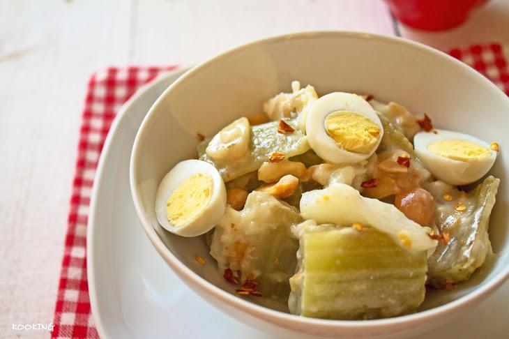 Cardoon with Codfish Recipe