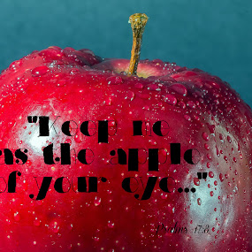 Apple Eye by Robert George - Typography Captioned Photos (  )