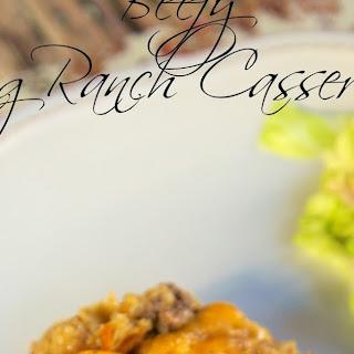 Beefy King Ranch Casserole.
