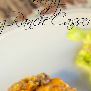 Beefy King Ranch Casserole.