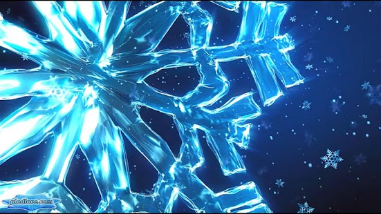 Crystal Snowflakes Snowfall- screenshot thumbnail