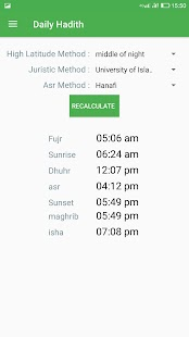 Daily Hadith - Prayer Times, Dua, Prophet saying - náhled