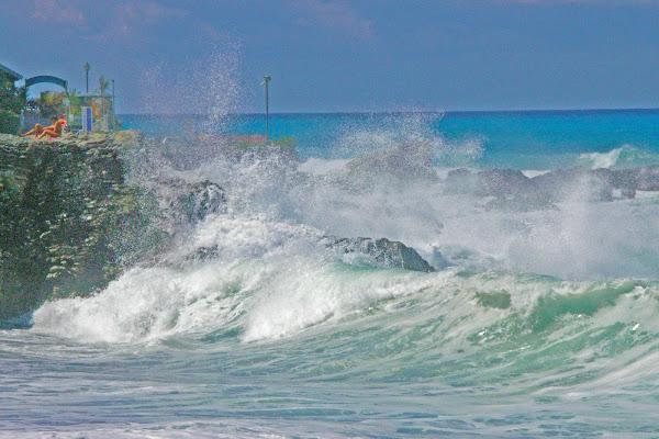 L'energia del mare in Tempesta di cesare carusio