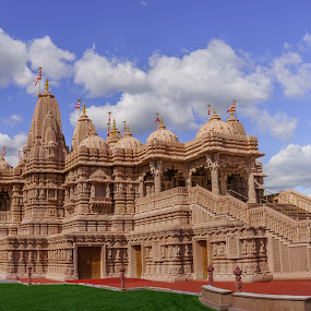 BAPS Mandir (Temple) by Lee Davenport - Buildings & Architecture Places of Worship (  )