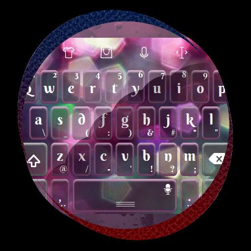 粉紅色的輝光 TouchPal 主題 個人化 App LOGO-APP開箱王