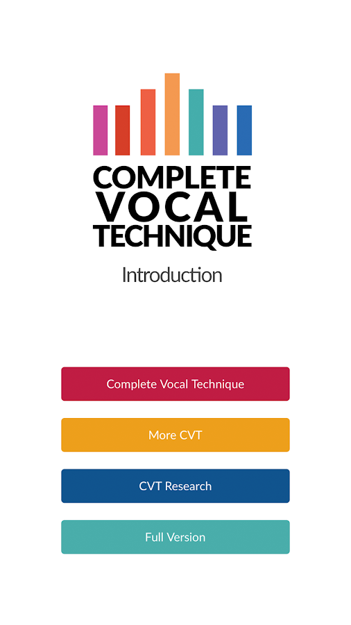 Complete Vocal Technique - Introduction- screenshot